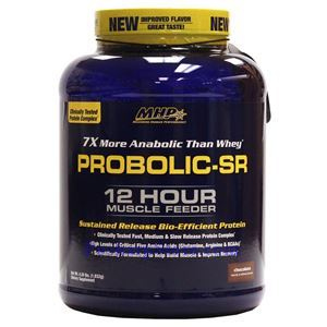 Picture of MHP Proboloc SR 12 Hour Muscle Feeder Chocolate Flavor 4.26 Lbs 56 Servings