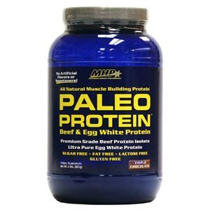 Picture of MHP Paleo Protein Hour Muscle Feeder Triple Chocolate Flavor 2 Lbs 28 Servings