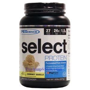 图片 PEScience牌Select蛋白系列混合酪蛋白乳清蛋白粉 香草味 837克 26次用量