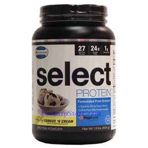 Picture of PEScience Select Protein Cookie & Cream Flavor 1.9 Lbs 27 Servings