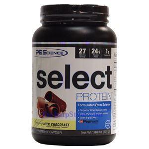 图片 PEScience牌Select蛋白系列混合酪蛋白乳清蛋白粉 巧克力味 891克 27次用量