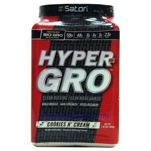 Picture of iSatori Hyper-Gro Mass Gainer Cookie & Cream Flavor 2.4 Lbs 16 Servings