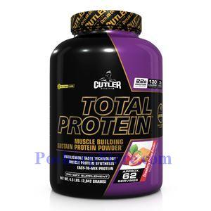 图片 Cutler Nutrition牌Total Protein增肌蛋白系列缓释增肌蛋白粉 草莓饼干味 2046克 62次用量