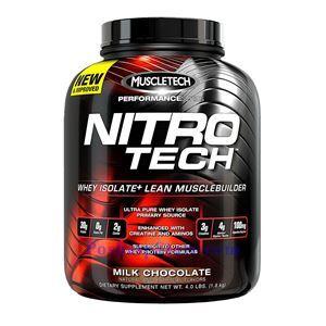 图片 Muscletech牌Performance优品系列高性能正氮增肌分离蛋白粉 奶油巧克力味 1800克 50次用量