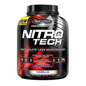 图片 Muscletech牌Performance优品系列高性能正氮增肌分离蛋白粉 香草味 1800克 41次用量
