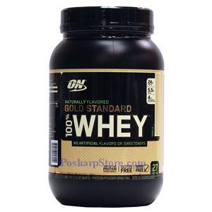 图片 Optimum Nutrition牌金标系列纯乳清蛋白粉 纯天然调味剂 香草味 864克 27次用量