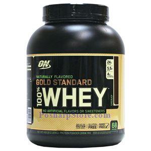 图片 Optimum Nutrition牌金标系列纯乳清蛋白粉 纯天然调味剂 巧克力味 2180克 86次用量