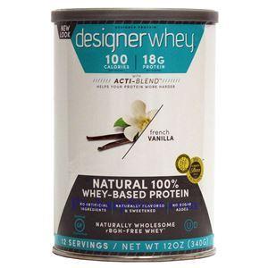 图片 Designer Protein牌Designer Whey系列特级乳清蛋白质奶昔 香草味 340克 12次用量
