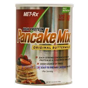 图片 MET-Rx牌高蛋白质营养早餐薄烤饼 奶油味 908克 10次用量