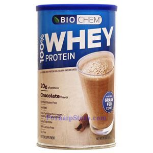 Picture of Country Life BioChem Sports 100% Whey Protein Isolate Chocolate Flavor 15.4 Oz 14 Servings