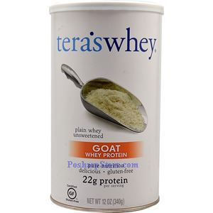Picture of Tera's Whey Goat Whey Protein Plain Flavor 12 Oz 12 Servings