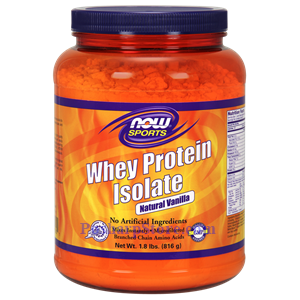 Picture of Now Foods Sports Whey Protein Isolate Vanilla Powder 1.8 Lbs 26 Servings
