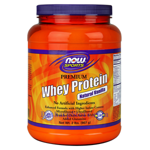 Picture of Now Foods Sports Premium Whey Protein Vanilla Powder 2 Lb 21 Servings