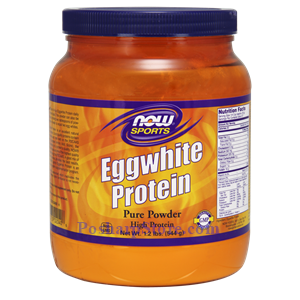 Picture of Now Foods Sports Eggwhite Protein Pure Powder 1.2 Lb 27 Servings