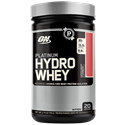 Picture of Optimum Nutrition Platinum Hydrowhey Hydrolyzed Whey Protein Isolates Strawberry 1.75 Lb 20 Servings