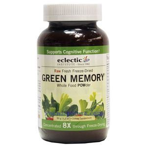 Picture of Eclectic Institute Raw Fresh Freeze-Dried Green Memory Whole Food Powder 3.2 Oz