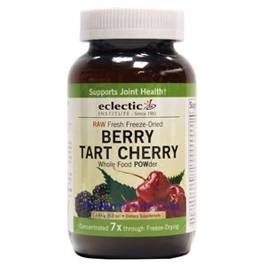 Picture of  Eclectic Institute Berry Tart Cherry Whole Food Powder 5.1 Oz 16 Servings