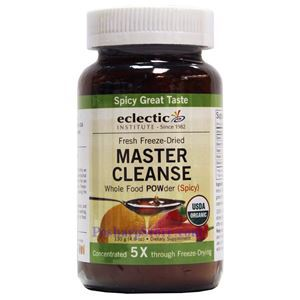 Picture of Eclectic Institute Raw Fresh Freeze-Dried Master Cleanse Powder (Spicy) 4.6 Oz 24 Servings