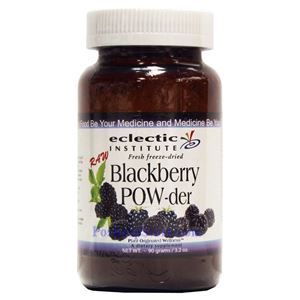 Picture of Eclectic Institute Fresh Freeze-Dried Blackberry Powder 3.2 Oz 30 Servings