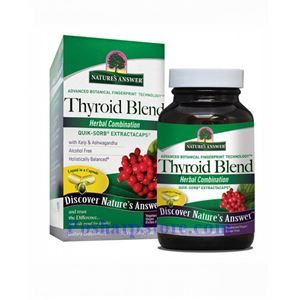 Picture of Nature's Answer Thyroid Blend 90 Vegetarian Capsules