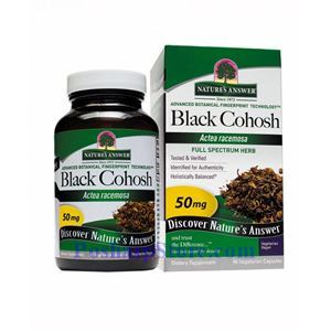 Picture of Nature's Answer Black Cohosh Root Extract 50 mg 90 Vegetarian Capsules
