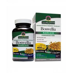 Picture of Nature's Answer Boswellia Extract 400 mg 90 Vegetarian Capsules