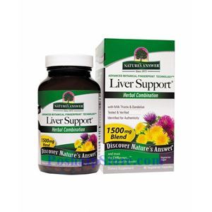 Picture of Nature's Answer Liver Support 1500 mg 90 Vegetarian Capsules