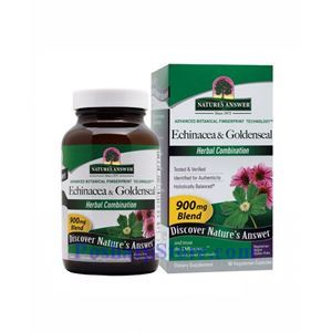 Picture of Nature's Answer Echinacea & Goldenseal Extract 900 mg 90 Vegetarian Capsules